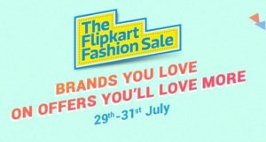 Flipkart Fashion Sale: Minimum 50% discount of Branded Clothes