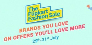 Flipkart Fashion Sale: Minimum 50% discount of Branded Clothes