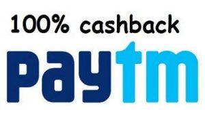 PayTm 100% Cashback Flash Sale on Fashion [Live @ 5 PM]