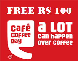 Get a cup of cappuccino at CCD anywhere in India for free (Don't Pay even a single penny)